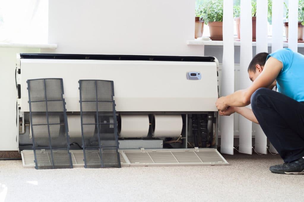 climatiseur monobloc fixe